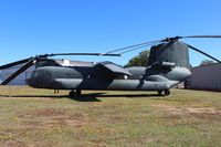 65-7992 - CH-47A Chinook special test helicopter with wing at Ft. Rucker - by Florida Metal