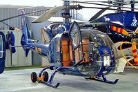 HB-ZFD @ LSGG - Aerospatiale SA.342J Gazelle [1058] Geneva~HB 23/07/2004