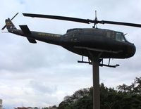 65-9643 - UH-1 on post in Dothan Alabama