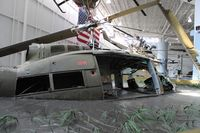 65-9974 - Huey crash scene at Army Aviation Museum