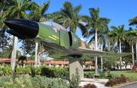 66-0273 - F-4D Phantom on a pole on US 1 in Homestead FL - by Florida Metal