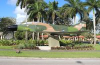 66-0273 - F-4D Phantom on a post in Homestead FL along US 1 - by Florida Metal