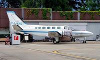 TJ-AHZ @ LSGG - Cessna 441 Coquest II [441-0001] Geneva~HB 23/07/2004
