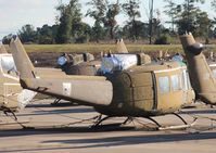 68-15337 @ 71J - UH-1H in storage - by Florida Metal
