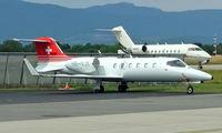 HB-VJI @ LSGG - Learjet 31 [31-011] (TAG Aeroleasing) Geneva~HB 23/07/2004