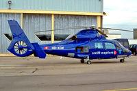 HB-XQW @ LSGG - Aerospatiale AS.365N1 Dauphin [6350] (Swift Copters) Geneva~HB 23/07/2004