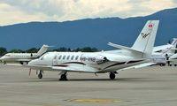 HB-VNB @ LSGG - Cessna Citation Ultra [560-0271] Geneva~HB 23/07/2004