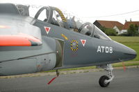 AT08 @ EBFN - Belgian Air Force Alpha Jet trainer at Koksijde Air Base, Belgium - by Henk van Capelle