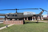 66-16325 - UH-1H in front of Daleville AL City Hall
