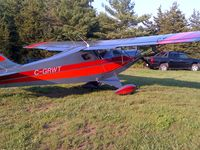 C-GRWT - C-GRWT parked outside my hangar, at my private strip, near Napanee, Ontario - by David Clapp