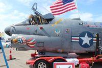 71-0295 @ EVB - A-7D Corsair front end