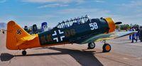 N64FL - N64FL (58)  1940 N. American NA-64  Taken at the Cactus Fly In At Casa Grande, Arizona on 2-28-'14 - by Steven K. Willard