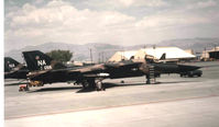 67-0056 @ KLSV - F-111A On the ramp Nellis, prior to conversion to EF-111A - by Ronald Barker