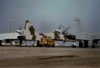 UNKNOWN @ KHMN - 64 FWS Aggressors when they were flying T-38As - by Ronald Barker