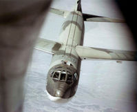 UNKNOWN @ KMHR - Air refueling a B-52G - by Ronald Barker