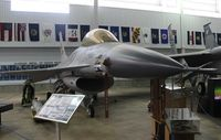 79-0334 - F-16A at Battleship Alabama Museum - by Florida Metal