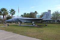 82-0034 @ VPS - F-15C at Ft. Walton Beach Airport - by Florida Metal