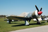 LA607 @ LAL - 1943 Hawker Tempest II, at the Florida Air Museum, Lakeland Linder Regional Airport, Lakeland, FL - by scotch-canadian