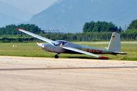 D-KACW @ LIDT - Aerotechnik L-13SL Vivat [930506] Trento-Mattarello~I  18/07/2004 - by Ray Barber