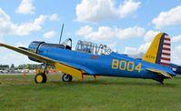 N75004 @ LAL - 1942 CONVAIR BT-15 - by dennisheal