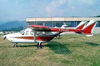 I-PLAS @ LILV - Cessna FT.337GP Super Skymaster [0004] Valbrembo~I 18/07/2004