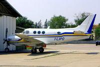 I-LIPO @ LIPO - Beech C90 King Air [LJ-616] Brescia-Montichiari~I 18/07/2004