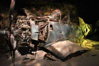 06833 @ NPA - SBD-4 Dauntless wreckage from Lake Michigan - by Florida Metal