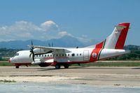 MM62208 @ LIBP - Aerospatiale ATR-42-500MP [615] (Italian Coast Guard) Pescara~I 15/07/2004
