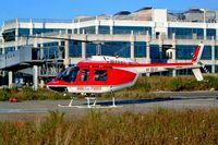 VF-21 @ LIBD - Agusta-Bell 206B-3 Jet Ranger III [8660] (Italian Firefighting Service) Bari-Palese Macchie~I 14/07/2004