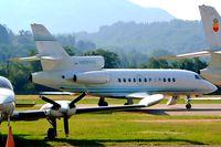 N900HG @ LSZA - Dassault Falcon 900EX [1] Lugano~HB 21/07/2004