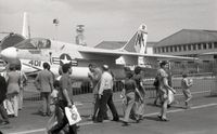 157593 - On display at 1973 Paris-Le Bourget Airshow (coded AA-401, squadron VA-81 aboard USS Forrestal (CVA-59)). - by J-F GUEGUIN