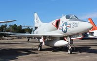 137813 @ NPA - A-4A Skyhawk - by Florida Metal
