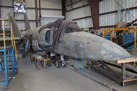 141882 @ TIX - F-11A Tiger under restoration at Valiant Air Command - by Florida Metal