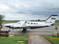 CX-LUR - En Aeropuerto Angel  S. Adami (Melilla), el Cessna es de la empresa estatal ANCAP. - by aeronaves CX