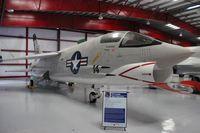 146985 @ TIX - F-8K Crusader - by Florida Metal