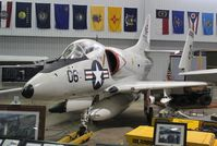 147787 - A-4L Skyhawk at Battleship Alabama Museum - by Florida Metal