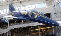 150076 @ NPA - Blue Angels A-4E Skyhawk