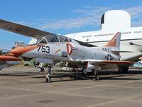 153505 @ NPA - TA-4F Skyhawk - by Florida Metal
