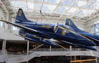 154983 @ NPA - Blue Angels A-4F Skyhawk