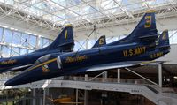 155033 @ NPA - Blue Angels A-4F Skyhawk - by Florida Metal