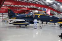 158722 @ TIX - TA-4J Blue Angels 7 - by Florida Metal