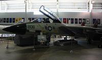 161611 - F-14A Tomcat at Battleship Alabama - by Florida Metal