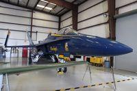 161948 @ TIX - Blue Angels F/A-18A Hornet