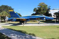 161955 @ NPA - Blue Angels F-18A Hornet