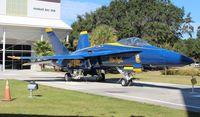 161955 @ NPA - F-18A Hornet Blue Angels - by Florida Metal