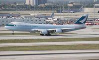 B-LJJ @ MIA - Cathay Cargo 747-800