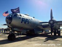N529B @ KSRQ - B-29 Superfortress Fifi (NX529B) on display at Sarasota-Bradenton International Airport during the Airpower History Tour - by Donten Photography