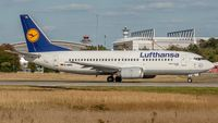 D-ABXL @ EDDF - departure via RW18W - by Friedrich Becker