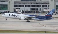 CC-CBJ @ MIA - LAN 767-300 - by Florida Metal