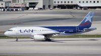 CC-CQO @ MIA - LAN A320 - by Florida Metal